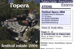 Opera - Pinocchio - Giugno 2004