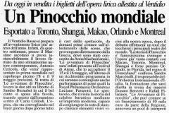 Pinocchio - Corriere Adriatico - 26 Aprile 2004 (1)