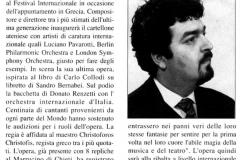 Pinocchio - Cronache Abruzzesi - Aprile 2004