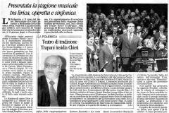 Pinocchio - Il Centro - 27 settembre 2003