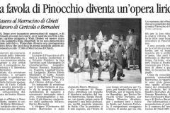 Pinocchio - Il Centro - 4 dicembre 2003