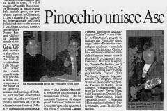 Pinocchio - Il Messaggero - 18 aprile 2004