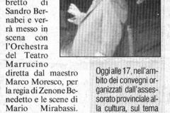 Pinocchio - Il Messaggero - 4 dicembre 2003